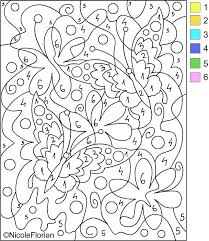 Color By Number Coloring Pages For Adults Color Number Color Pages S