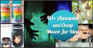 Decorative Jars Ideas 100 Awesome And Cheap DIY Ways To Recycle Mason Jars Cute DIY 80