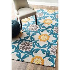 luxury orange and turquoise area rug 32 amazing 60 best rugs images on aqua intended for popular