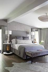 good looking gray and white zebra rug contemporary bedroom in new york with dark hardwood