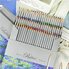 macro high quality 72 color fine art drawing pencil oil base non toxic office school pencil colored pencils art drawing office