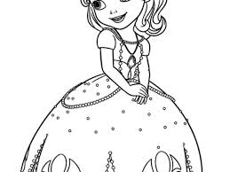 Small Picture Disney Sofia the First Princess Coloring Pages Free Coloring