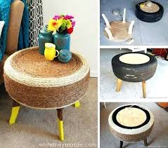 table recycled materials. Furniture Made From Recycled Materials Outdoor Of Metal Barrels Creative Table