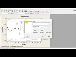 Control Chart Minitab Youtube