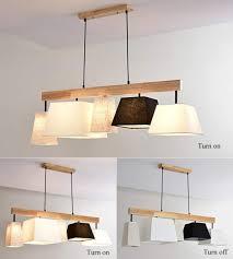 Platz Pendelleuchte Klassisch Stoff Lampenschirm 3 Flammig Gute Qualität Höhenverstellbar Hängeleuchte Modern Design Wohnzimmer Esszimmer Schlafzimmer