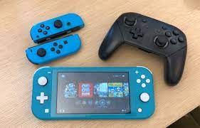 pro controller to nintendo switch lite