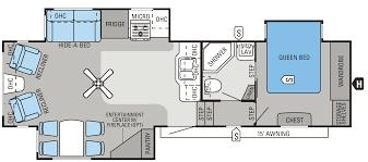 2016 eagle fifth wheels 31 5rlts floorplan