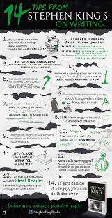 best ideas about book writing tips creative stephen king on writing infographic i actually have his book on how to write