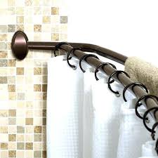 bronze curved shower rod adjule curved shower curtain rod adjule curved shower curtain rod oil rubbed