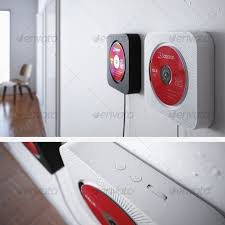 3d model muji cd player