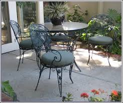 used wrought iron patio furniture lovely aluminum versus wrought iron outdoor patio furniture elegant for