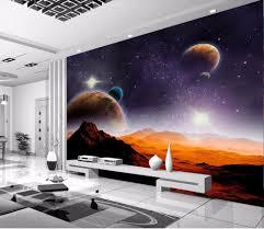 wallpaper landscape sunset red d photo mural papel de parede d photo wallpaper modern space planet moon star mar si