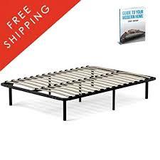 Amazon.com: Platform Bed Frame King Mattress Size Modern Standard ...