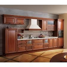 high end alder solid wood kitchen cabinet furniture op13 023