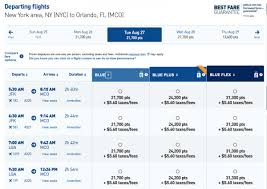 Jetblue Chart Your Guide To Booking Award Flights On Jetblue Nerdwallet