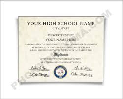 high school diploma name fake high school diploma southeast design phonydiploma com