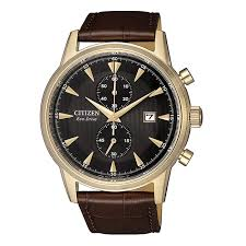 citizen eco drive elegant ca7008 11e brown leather mens watch 30259544 watches shiels jewellers