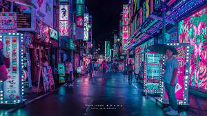 Tokyo Neon Lights Wallpaper (Page 4 ...