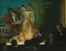 spanish music hall everett shinn work of art  spanish music hall