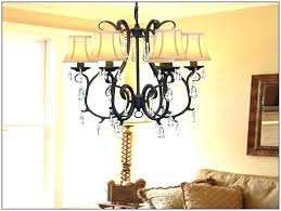 chandeliers country chandelier lighting lamp shades crystal easy fit light shade french co