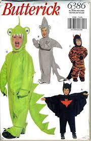 Dinosaur Costume Pattern