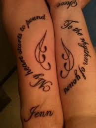 Small Quote Tattoos Beauteous 48 Best Couples Tattoos Images On Pinterest Best Friend Tattoos