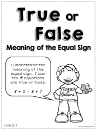 this practice packet will help your kids get plenty of practice on determining if equations involving addition and subtraction are true or false