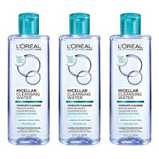 l oreal paris micellar cleansing water oily skin cleanser makeup remover