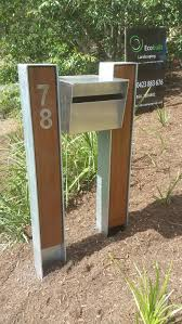 wood mailbox ideas. Metal Iron Mailbox Stand With Double Holder Plant On Ground Wood Ideas