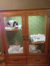 cabinet bunny hutch 9 diy rabbit hutch ideas using upcycled furniture see more at