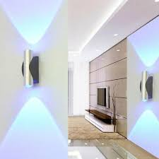 up down led light modern indoor wall