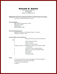 resume for high school students examples examples of resumes with no experience sample work resume high