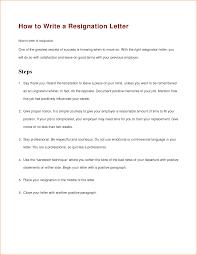 how to write resignation letter basic job appication letter how to write a resignation letter to boss