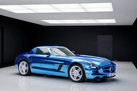 Produced in a very limited quantity (again it's unknown if any made it out the factory), power comes from four electric motors and a rated at an impressive 740 horsepower. Mercedes Benz Sls Amg Coupe Electric Drive Electrifying The World S Most Powerful Electric Super Sports Car Daimler Global Media Site