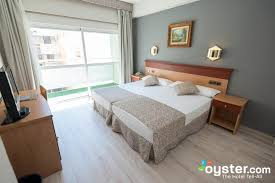 The Double room twin bed side view at the Soho Bahia Malaga Oystercom