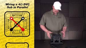 3 dvc 4 ohm 2 ch random kicker dvc wiring diagram mamma mia and subwoofer wiring one 4 ohm dual voice coil sub in parallel inside kicker dvc diagram