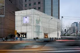 uufie transforms flagship with icy cool glass block