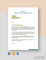 60 termination letter exles in pdf