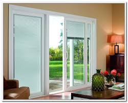 designer series sliding patio doors with built in blinds pella within 4 sliding glass door