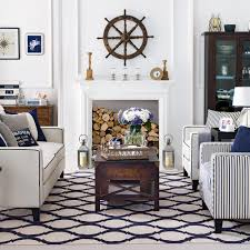 coastal chic furniture. Chic Hamptons-style Coastal Living Room Furniture