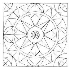 Symmetry Coloring Pages Compassion Mandala Mandala Coloring Coloring