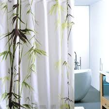 bamboo shower curtains bamboo print shower curtain design bamboo shower curtain uk