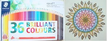 Staedtler Colored Pencils 48 Color Chart Wax Based Pencils Colouring In The Midst Of Madness
