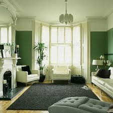 green and white rooms | Green living room: Monochrome palette + white  accents | Flickr