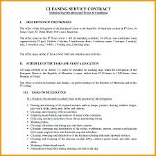 Service Contract Proposal Template – Poquet