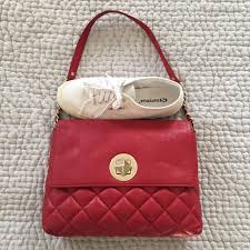 89% off kate spade Handbags - Kate Spade red quilted leather ... & Kate Spade red quilted leather Charlize bag Adamdwight.com