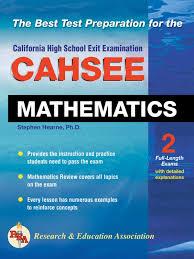 Cahsee Score Chart Cahsee Mathematics Test Ebook By Stephen Hearne Rakuten Kobo
