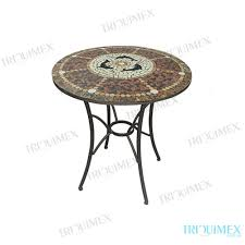 triex round moroccan mosaic outdoor dining table 3