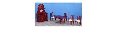 dollhouse dining room furniture. Dining Room Sets Transform Your Dollhouse Furniture Y
