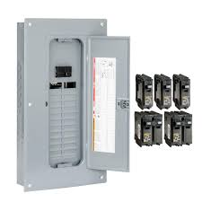 square d homeline 100 amp 24 space 48 circuit indoor main plug on Circuit Breaker Vs Fuse Box square d homeline 100 amp 24 space 48 circuit indoor main plug on circuit breakers vs fuse box